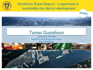Stockholm Royal Seaport Innovation