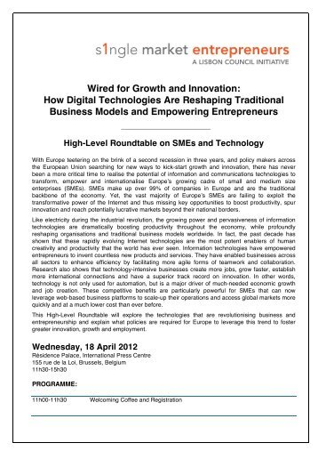 Wired for Growth and Innovation: How Digital Technologies ... - FI3P