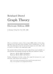 Diestel: Graph Theory - DMI