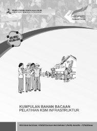 ebook BB Pelatihan KSM Infrastruktur - P2KP