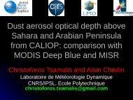 Download PDF presentation - ARA - Atmospheric Radiation Analysis