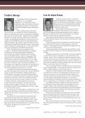 Fall 2006 - Marshall County Community Foundation - Page 3
