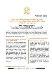 Trans'Oise > Enlèvement des rails sur le délaissé ferroviaire du ...
