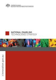 National Enabling Technologies Strategy Booklet - Department of ...