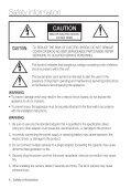 User manual (pdf) - Samsung CCTV - Page 4