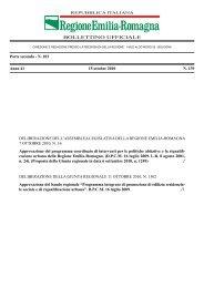Bollettino Ufficiale n.139 del 15 ottobre 2010 - Territorio - Regione ...