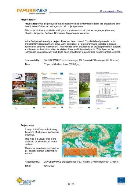 Communication Plan DANUBEPARKS Project (.pdf, 2113 KB)