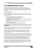 Communication Plan DANUBEPARKS Project (.pdf, 2113 KB) - Page 3