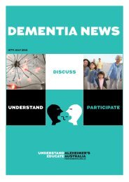 DEMENTIA NEWS - Neuroscience Research Australia