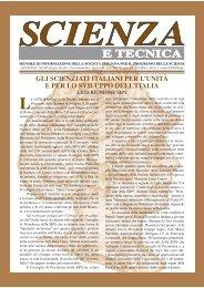 Scienza e tecnica - Società Italiana per il Progresso delle Scienze