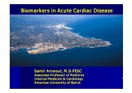 Biomarkers in Acute Cardiac Disease