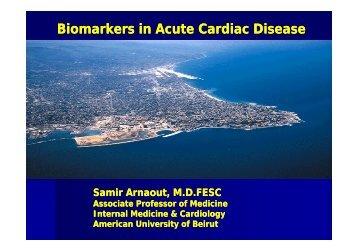 Biomarkers in Acute Cardiac Disease