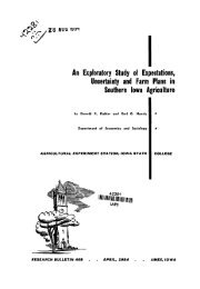 An Exploratory Study of Expectations, Uncertainty and Farm Plans in ...