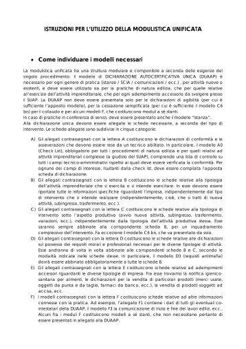 ISTRUZIONI PER L'UTILIZZO DELLA ... - Sardegna SUAP