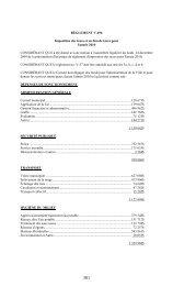 RÈGLEMENT V-496 Imposition des taxes et en-lieu de taxes pour l ...