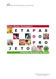 Plano Diretor Participativo - Etapas do Projeto - Prefeitura Municipal ...