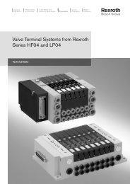 Valve Terminal System, Series HF04 - Coeva