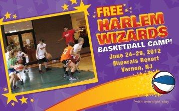 June 24–29, 2012 Minerals Resort Vernon, NJ ... - Harlem Wizards