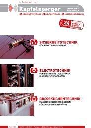 Unsere Image- broschüre zum Download - Kapfelsperger GmbH