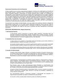 Banco Itaú Holding Financeira S.A. - Relações com Investidores ...