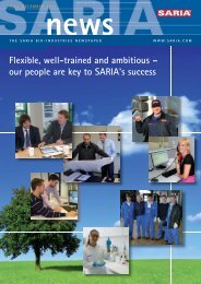 Flexible, well-trained and ambitious – our people are key to SARIA's ...