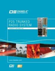 P25 TRUNKED RADIO SYSTEM - Daniels Electronics