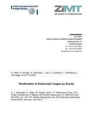 Rectification of Endoscopic Images by Gravity