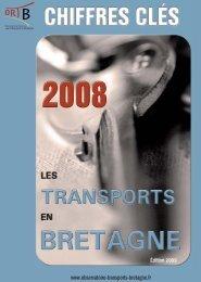 chiffres-clés 2008 - Observatoire Régional des Transports de Bretagne