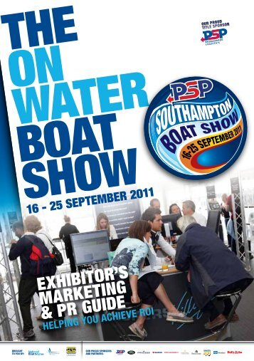 ExhIbITOR'S MaRkETINg & PR gUIDE - Southampton Boat Show