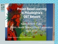 Project-Based Learni.. - BOOST Best of Out-Of-School Time ...