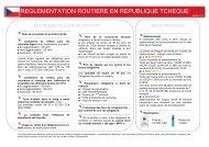 République Tchèque 2013 - Association Prévention Routière