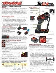 Traxxas TQ 2.4GHz Instructions TRAXXAS.com - Robot MarketPlace