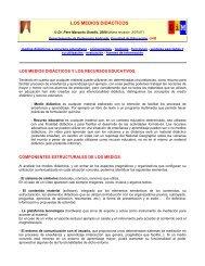 Los Medios Didácticos (2007)