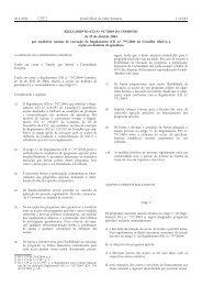 REGULAMENTO (CE) N.o 917/2004 DA COMISSÃO de ... - EUR-Lex