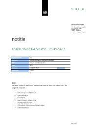 FS 43-04-13 - Forum Standaardisatie