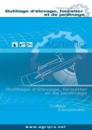 Catalogue outils élevages, jardinages, forestiers_FR:Catalogue ...