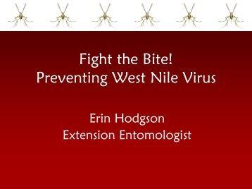 West Nile Virus - Utah Pests