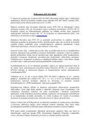 PCB a nová STN EN 60422 - Ministerstvo životného prostredia
