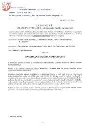 Usnesení - Dražební vyhláška 002 EX 912/10-42 - Statutární město ...