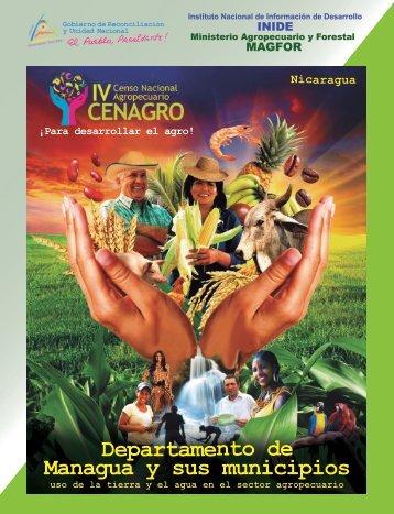 Departamento de Managua y sus municipios - magfor