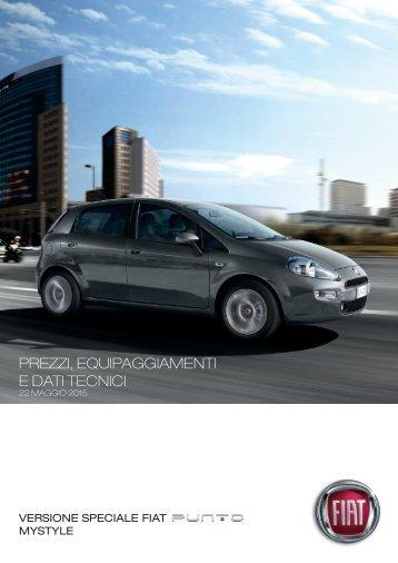 VERSIonI E PREZZI Punto PoP StAR LounGE - Fiat Group ...
