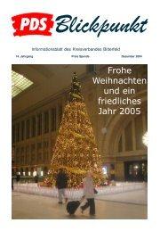 Blickpunkt 12/2004 - Aktuell