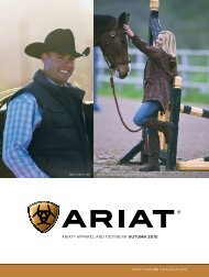 ARIAT® AppARel And FooTweAR Autumn 2010 - Just Country ...