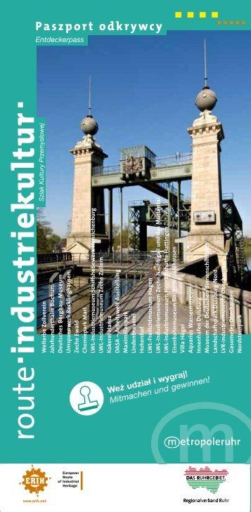 9 lipca 2011 · 30 czerwca 2012 - Metropole Ruhr