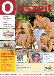 tolle Urlaubstage - Ortszeit Online +++ Das Magazin für die ganze ...