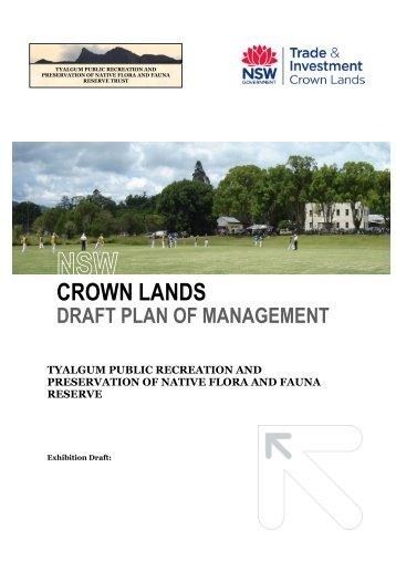 Draft Plan of Management for Tyalgum Public Recreation and ... - Land