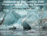 Guidance on Sea Level Rise by 2100, Ice Melt – the Big ... - fsbpa