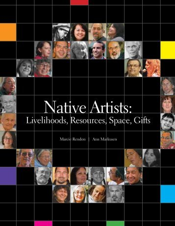 Native Artists: Livelihoods, Resources, Space, Gifts - Humphrey ...