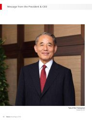Message from the President & CEO - Takeda