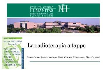 La radioterapia a tappe - Congressiairo.it